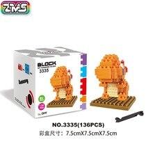 ZMS Charmander blocks ego nero legoe star wars duplo lepin brick minifigures ninjago guns duplo farm castle super heroes