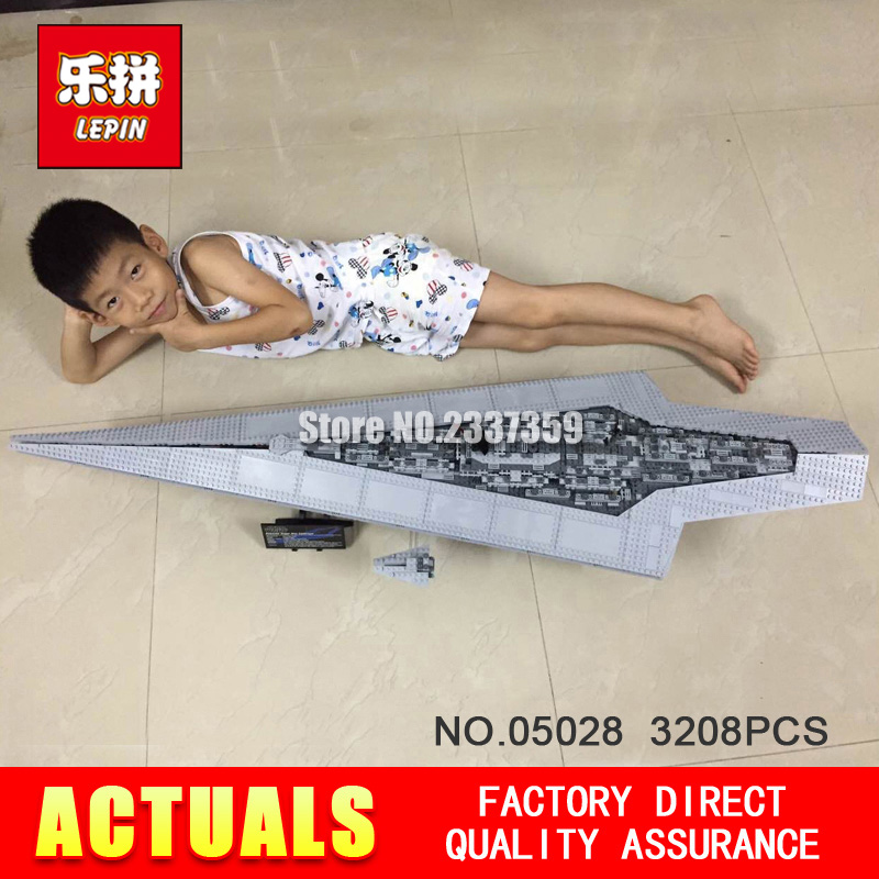 New LEPIN 05028 3208Pcs Toy Execytor Super Star Destroyer Model Building Kit Block Brick Compatible 10221 Boy Gifts WARS lepin 05028 star 3208pcs toy wars execytor super star destroyer model building kit block brick compatible 10221 boy gifts