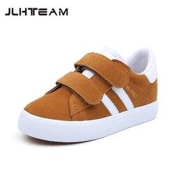 Crianças sapatos para a menina criança sapatos de lona meninos tênis denim 2019 nova primavera outono moda crianças sapatos casuais pano sapatos planos