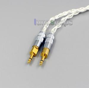 Image 5 - LN006427  99% Pure Silver XLR 2.5mm 4.4mm 3.5mm 8 Core Headphone Earphone Cable For Sennheiser HD700