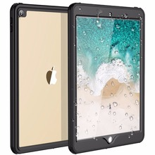 For iPad Pro 10.5 Waterproof Case Shockproof Dustproof with Built-in Screen Full-Body Rugged Protective for