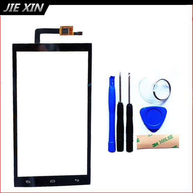 Инструменты + 3 М Наклейка Новый 5.0 Дюймов Для Micromax Canvas Juice 2 AQ5001 Сенсорным Экраном Дигитайзер Сенсорная Панель Черный Бесплатная Доставка