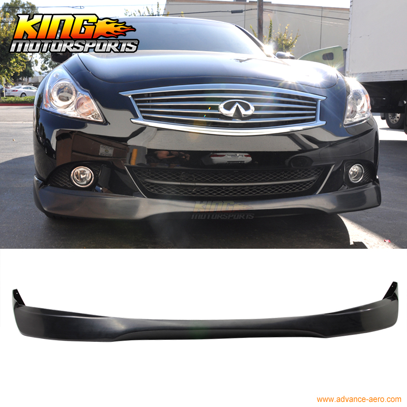 Fit For 10-13 Infiniti G37 11-12 G25 Sedan EVO Urethane Front Bumper Lip Spoiler usb flash drive 64gb sandisk cruzer blade sdcz50 064g b35