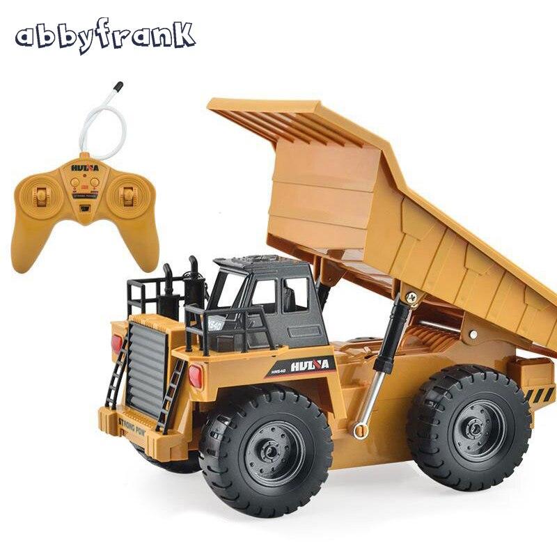 Camión Volquete Volquete RC eléctrico de Control Remoto Modelo De Coche de Jugue