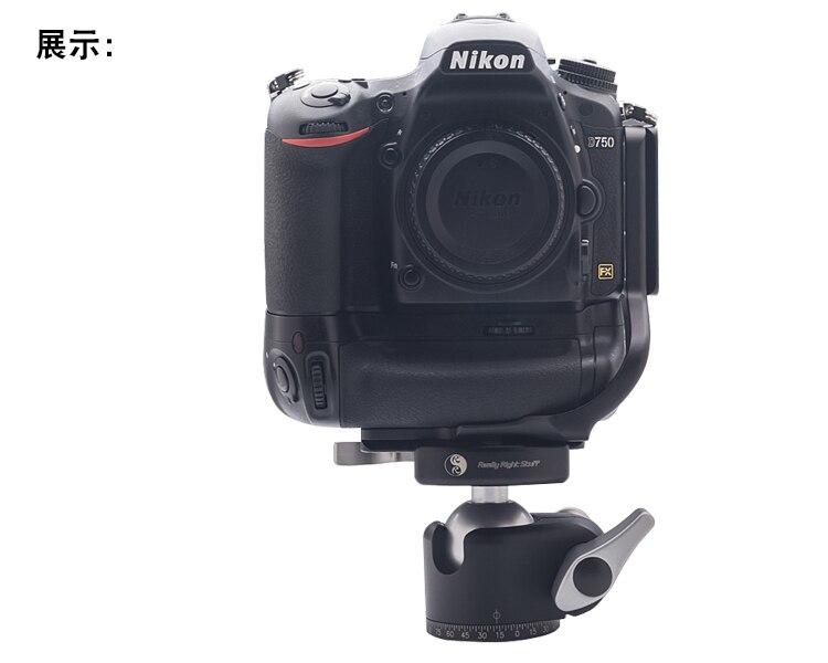 Benro Arca-estilo de la placa base personalizado para Canon 1DX