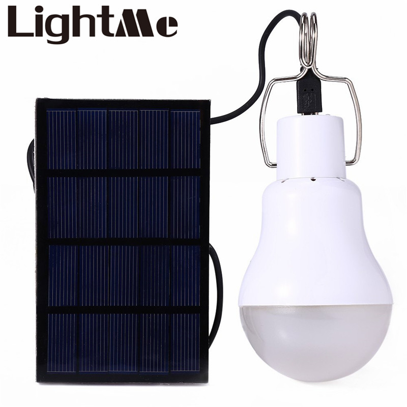 2016 New Useful Energy Conservation S-1200 15W 130LM Portable Led Bulb Light Charged Solar Energy Lamp Home Outdoor Lighting Hot