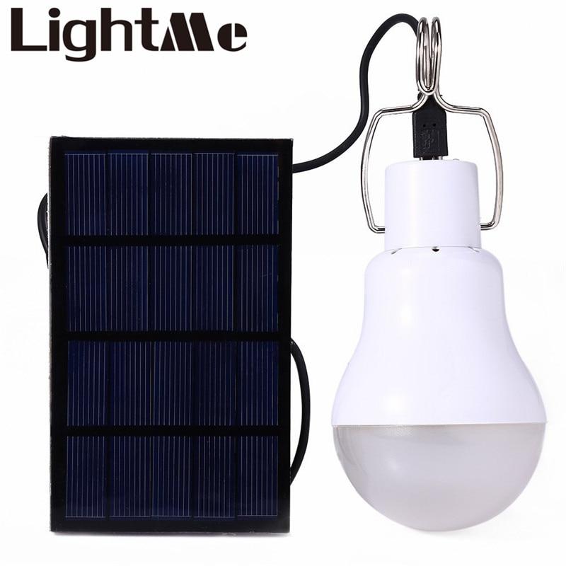 2018 nueva conservación de energía útil s-1200 15 W 130lm portátil LED Bombilla luz cargada energía solar casa Iluminación de exterior caliente