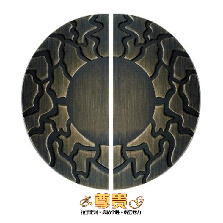 Chinese antique semicircular door handle has frameless glass door handle door handle modern European bronze european modern bronze handle chinese antique doors handle circular glass door handle