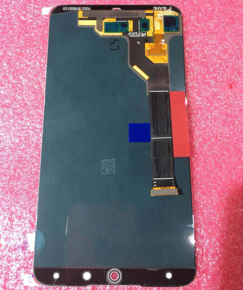5 95 Original AMoled new Test For Meizu 15 Plus LCD Display Touch Screen Digitizer Assembly