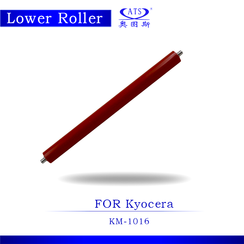 1PCS Photocopy Machine Lower Pressure Fuser Roller For Kyocera KM 1016 Copier Parts KM1016