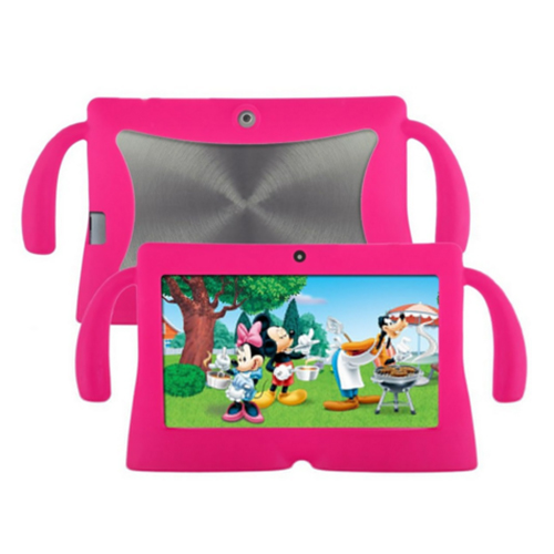 7 Inch Soft Silicone Gel Cover Case For Q88 Android Kids Children Tablet PC A13 Rose red скатерть angel ya children tsye zb266 88