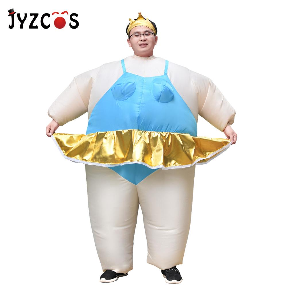 INFLATABLE SUMO WRESTLER HORSE FANCY DRESS NOVELTY COSTUME STAG AND HEN NIGHT