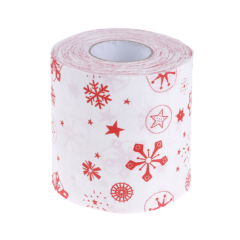 Christmas Printing Paper Toilet Tissues Novelty Roll Toilet Paper for Christmas decoration Wholesale