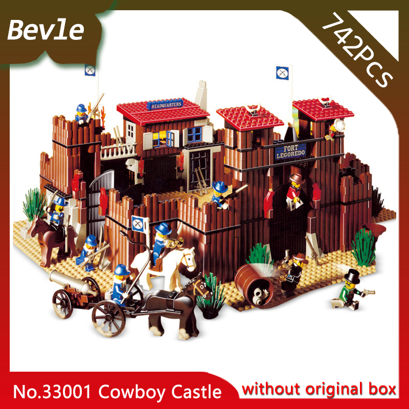 Lepin 33001 742Pcs Movie Series The Idian Cowboy`s Castle Model Building Blocks set Bricks Toys For Children Gift 6769 bering 30226 742