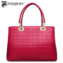 ZOOLER2016 new high-quality luxury brand fashion portable shoulder bag leather bag counter genuine, well-known brands of women