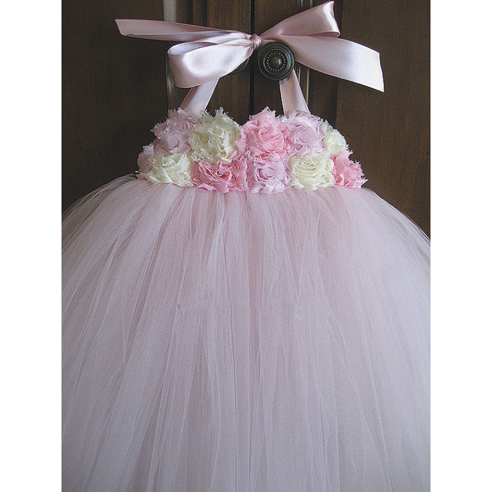 5307ef09027da Αγορά Κορίτσια ' ρούχα | Flower Girl Dress Pink Ivory Grey Baby ...