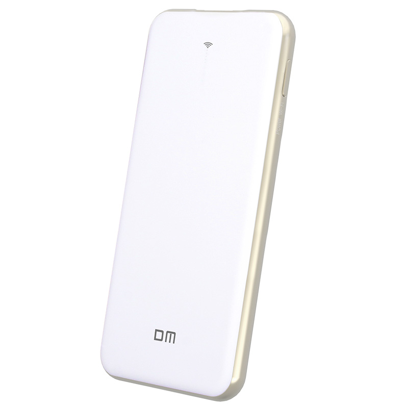 ФОТО DM WFD028 Wireless USB Flash Drives 64GB WIFI Power Bank 5000mAH Share Data For iPhone / Android / PC Smart Pen Drive Memory