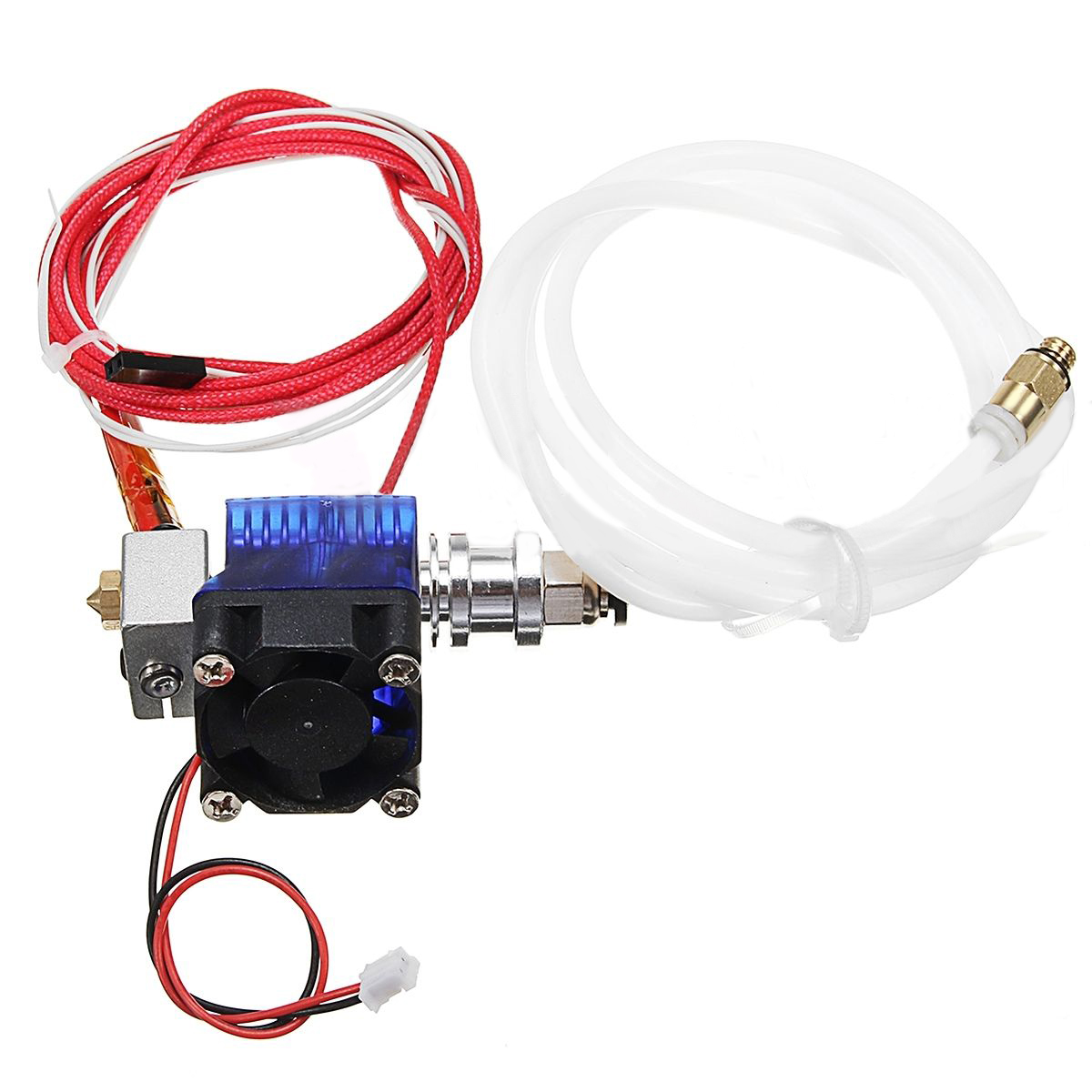 New 12V E3D V6 3D Printer Extruder J-head Hotend 0.4mm Nozzle For 1.75mm Filament Fan 3d printer accessory reprap j head mkiv mkv hotend nozzle wade bowden extruder for choice top quality free shipping