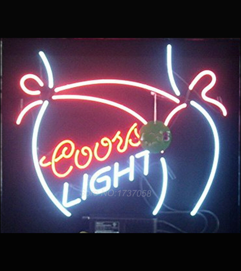 Coors light bikini girl its 5 oclock somewhere neon sign beer pub coors light bikini girl its 5 oclock somewhere neon sign beer pub recreation windows garage wall sign real glass tube 24x20 in neon bulbs tubes from mozeypictures Choice Image