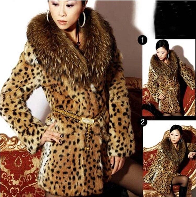 Manteaux Manteau 4xl Plus 5xl 5xl Grande Léopard S Renard Artificielle Fourrure Faux Print La appeal De Sex Imprimé Taille Femmes Hiver Leopard xFnUICf