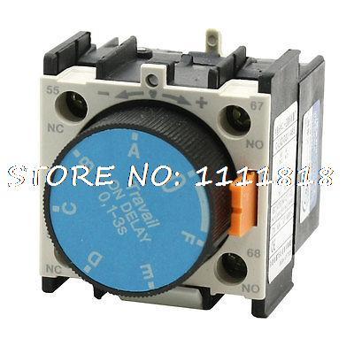 C-LA2-D20.A65 0.1-3 Seconds On Delay Pneumatic Timer Contactor Auxiliary la difficulte d