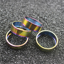 STAN TI  1 1/8 Mtb Bike Headset Spacer 10 mm Titanium Road Bicycle Heighten Stem Washer bike accessory