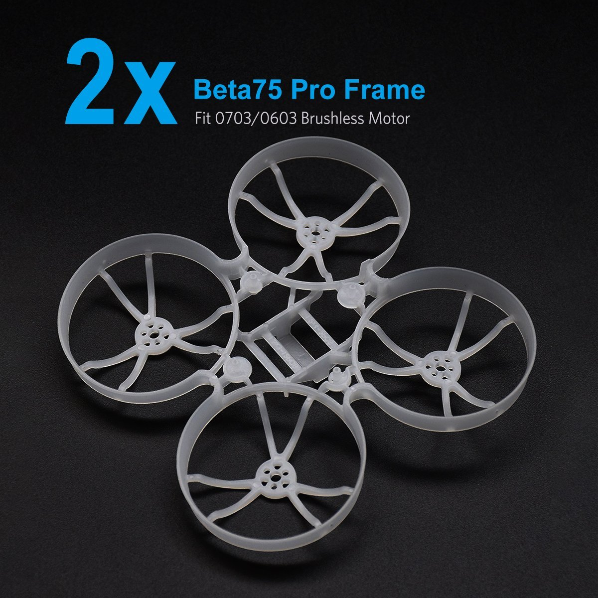 2pcs Beta75 Pro Micro Brushless Whoop Frame брюки adl adl ad005ewamkj3