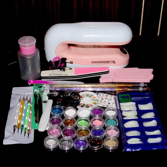 Nail supply kit
