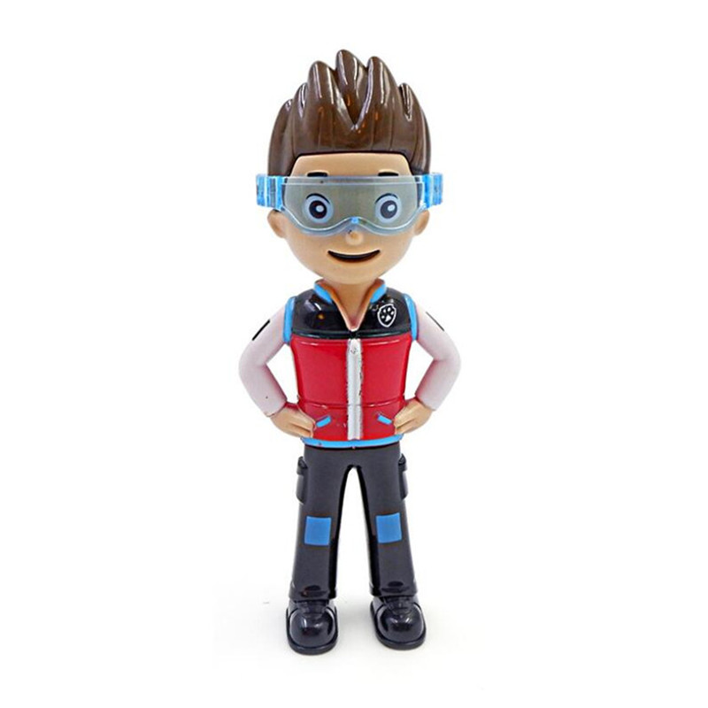 Genuine Paw Patrol Dog Kids Toy Marshall Ryder Action Figure Model Children Toys Gifts