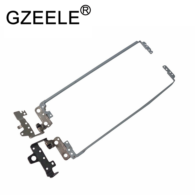 GZEELE New Right + Left LCD Hinges For HP TPN-C125 TPN-C126 HQ-TRE RTL8723BE LCD Screen Hinge Hinges Left & Right