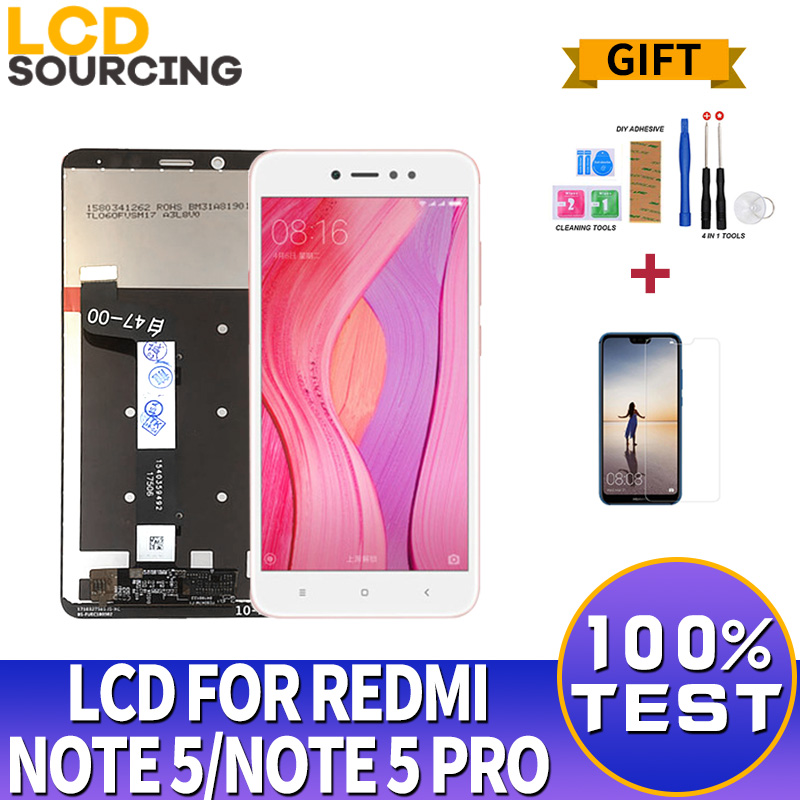 <font><b>5</b></font>.99 inch <font><b>LCD</b></font> For <font><b>Xiaomi</b></font> <font><b>Redmi</b></font> <font><b>Note</b></font> <font><b>5</b></font> / <font><b>Note</b></font> <font><b>5</b></font> <font><b>Pro</b></font> <font><b>LCD</b></font> <font><b>Display</b></font> Digitizer with Frame 10 <font><b>Touch</b></font> <font><b>Screen</b></font> Replacement Repair Parts image