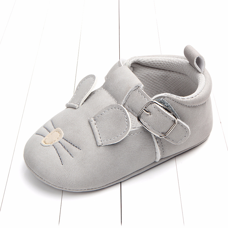 Baby First Walkers Matte leather Shoes for Baby Girl Boy Cartoon Animal Newborn Slippers Footwear Booties Kids Gift Child Shoes (17)
