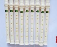 Hot Sale Wholesale Chinese Folk Instruments Eight Holes Vertical Tin Flute Plastic Brid Flute