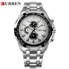 CURREN 8023 men Watches Brand Luxury Men Military Wrist Watches Full Steel Men Sports quartz Watch Waterproof Relogio Masculino