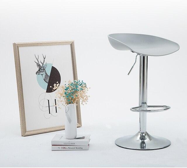 Kunststoff PP Sitz Bar Stuhl Kostenloser Versand Kaffeehaus Hocker Blau Grau  Schwarz Rot Farbe Wohnzimmer PC