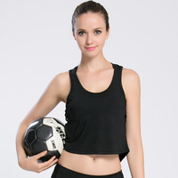 Women S Sporting Fitness Vest Casual Breathable Hollow Out Crop Tops Sleeveless Movement Workout Clothing Women