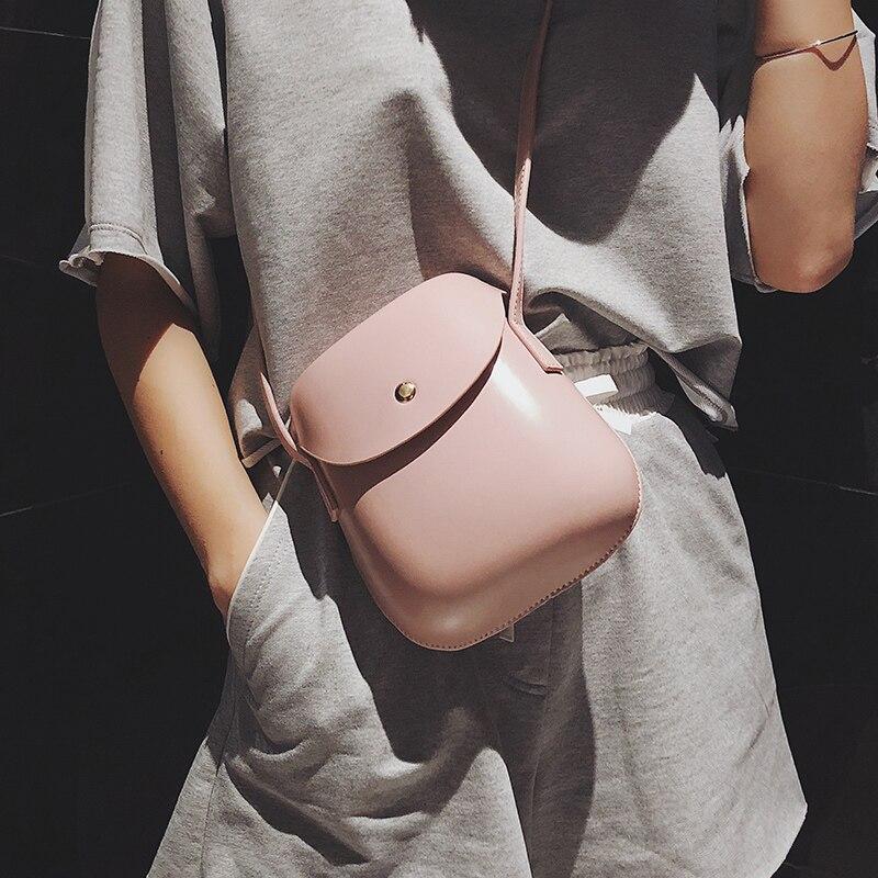 Vintage Fashion Mini Shell Female Bag 2018 New Women's Designer Handbag High Quality PU Leather Women Bag Shoulder Messenger Bag