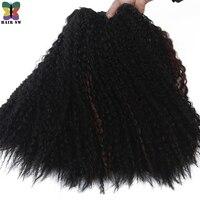 Pelo SW África sensación onda de agua 100% kanekalon Pelo sintético extensión tejer para las mujeres africanas 18