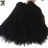 HAIR SW Africa Sensation Water Wave 100 Kanekalon Synthetic Hair Weaving Extension For African Women 18