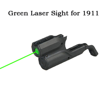 Buy New Military Tactical Green Laser Pointer Green Laser Sight  With Switch For 1911 Airsoft Gun Hunting OS20-0041