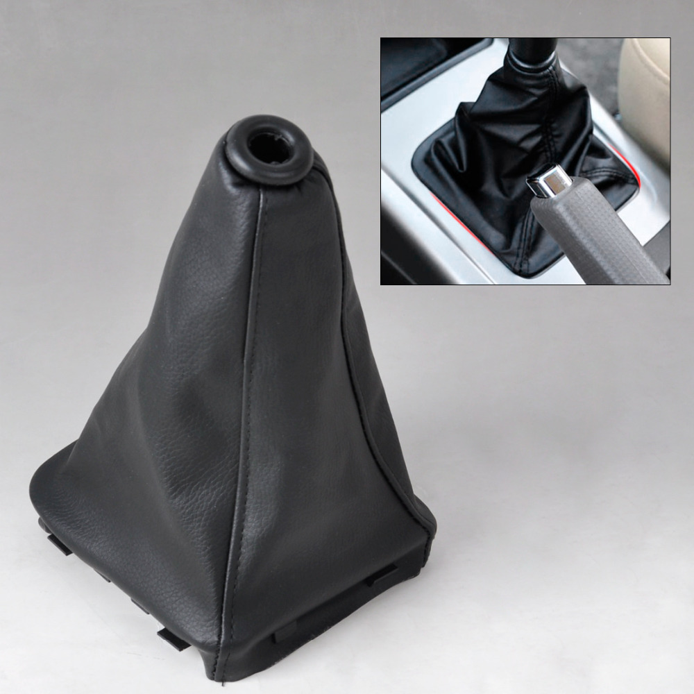 CITALL New PU Leather Gear Stick Shift Knob Cover Boot Gaiter For Hyundai Elantra / Avante XD 2000 2002 2003