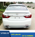 Para Hyundai Sonata telhado Material Asa Traseira Do Carro Spoiler ABS Cor Cartilha spoiler Spoiler Traseiro Para Hyundai Sonata 2011-2013