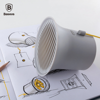 Baseus Fashion Mini USB Cooler Fan Personal Cooling Fan Office Home Desktop Double Blades Air Conditioner 2-Speed Adjustable Fan