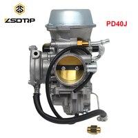 ZSDTRP PD40J for Polaris Sportsman 500 4x4 Carburetor 2001 2013 Big Boss 500 Universal 400cc to 600cc Racing Motor ATV