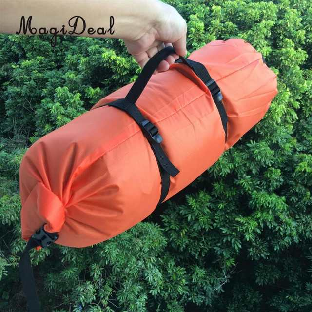 US $9 18 18% OFF|MagiDeal Outdoor Sports Ultralight Camping Hiking  Backpacking Tent Compression Stuff Sack Duffel Bag-in Tent Accessories from  Sports