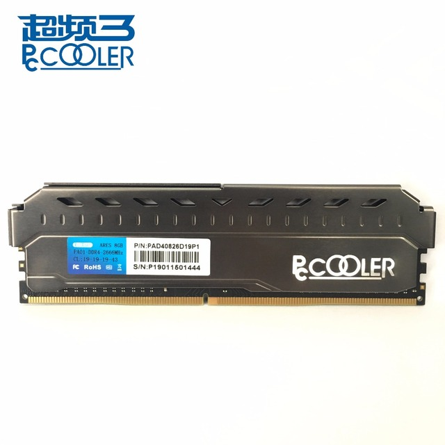 Pccooler 4 ГБ 8 ГБ 16 ГБ 3200 ПК Оперативная память модуль компьютерный Рабочий стол 4G 8G 16G DDR4 PC4 3200 МГц 2400 МГц 2666 МГц 3000 МГц DMII 2