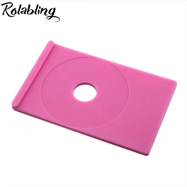 Hotsale 1PC Professional Pink Nail St&ing Image Plate Holder Stand Tray for St&ing Template Printing Plate  sc 1 st  AliExpress.com & Hotsale 1PC Professional Pink Nail Stamping Image Plate Holder Stand ...