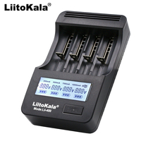 Liitokala lii 400 Lii PD4 LCD Charger 18650 26650 18500 14500 16340 3.7V lithium battery NiMH AA / AAA1.2V Battery Charger
