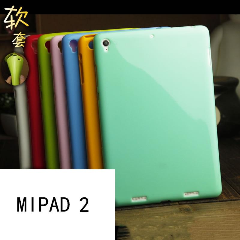FÖR Xiaomi mi pad 2 mipad 2 mjuk täckväska 7,9 tum solid färg - Reservdelar och tillbehör för mobiltelefoner - Foto 1