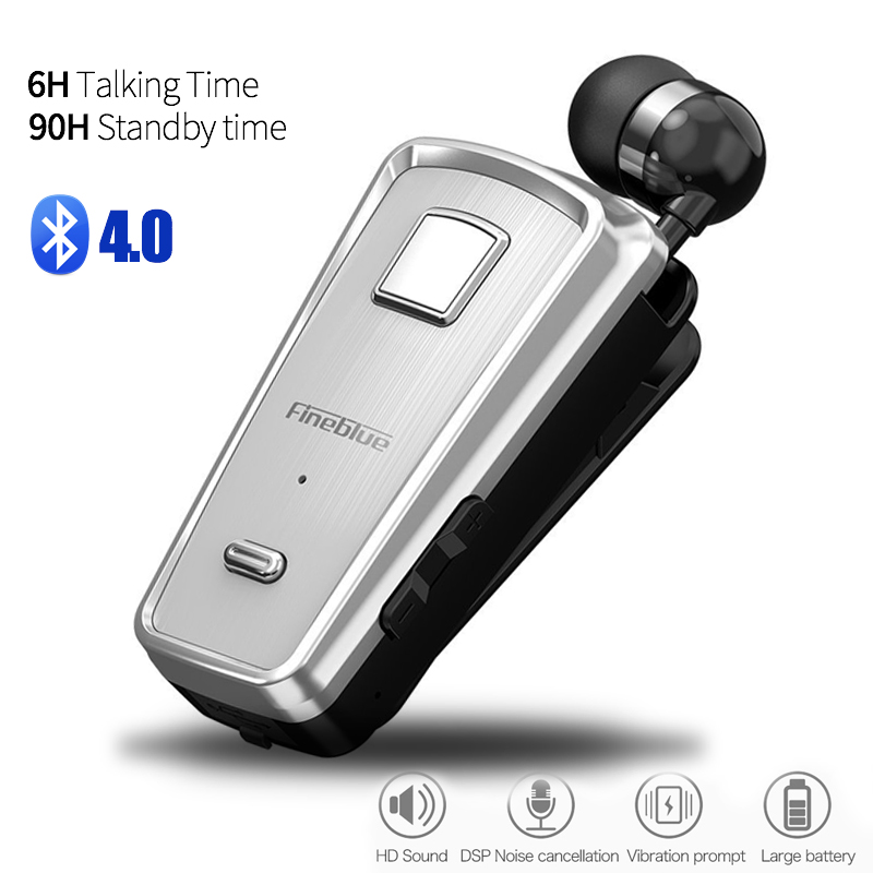 6b275a8d5bf קנו אוזניות ואוזניות | 2018 HOT fineblue F980 Car Bluetooth Headphone In-Ear  Handsfree Mini Wireless Headset Wear Clip Auriculares with Microphone